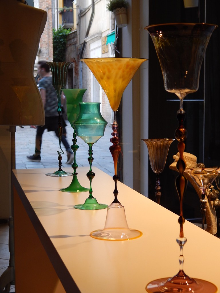 A few of Igor's one-of-a-kind goblets...