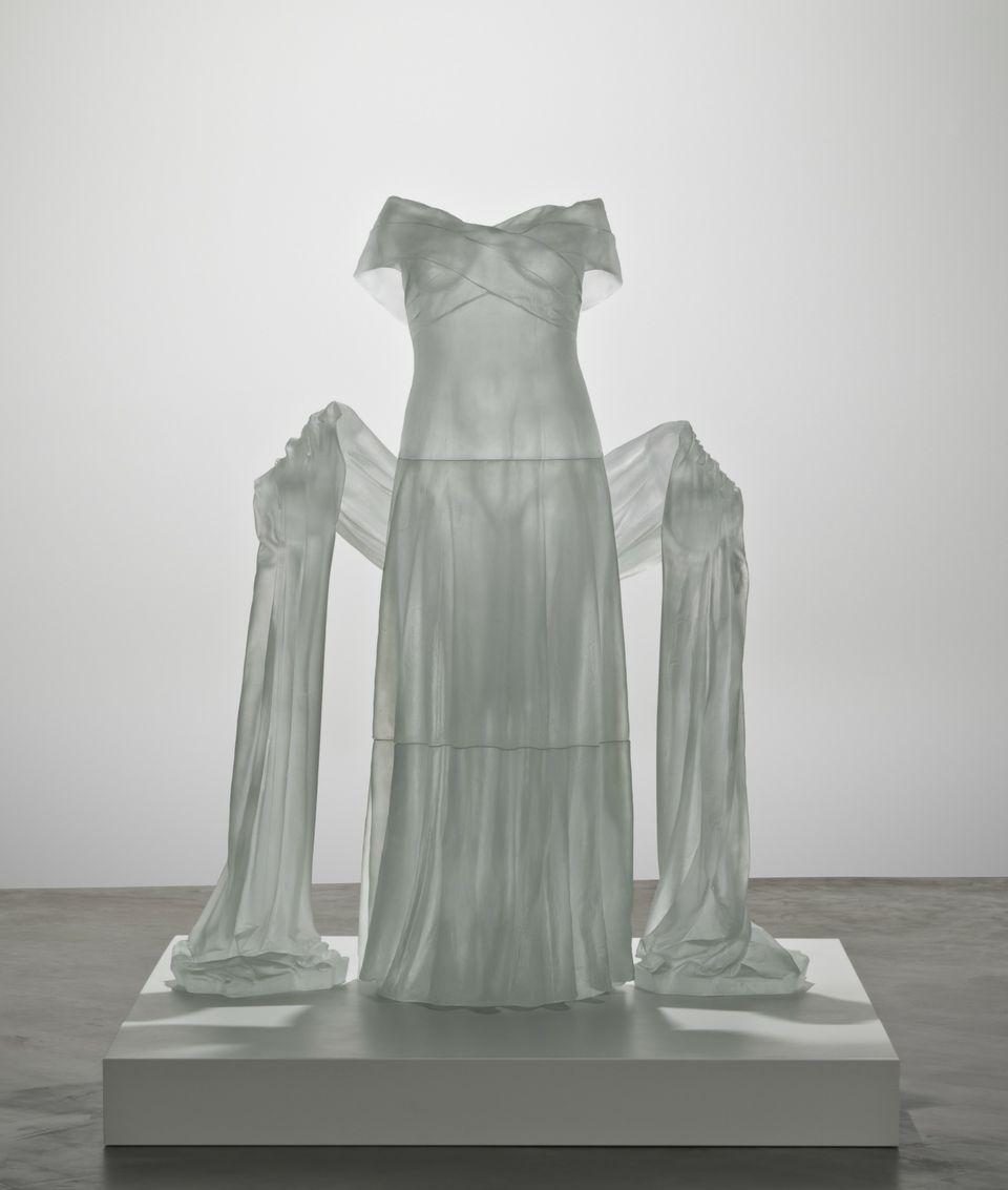 Evening Dress with Shawl, Karen LaMonte