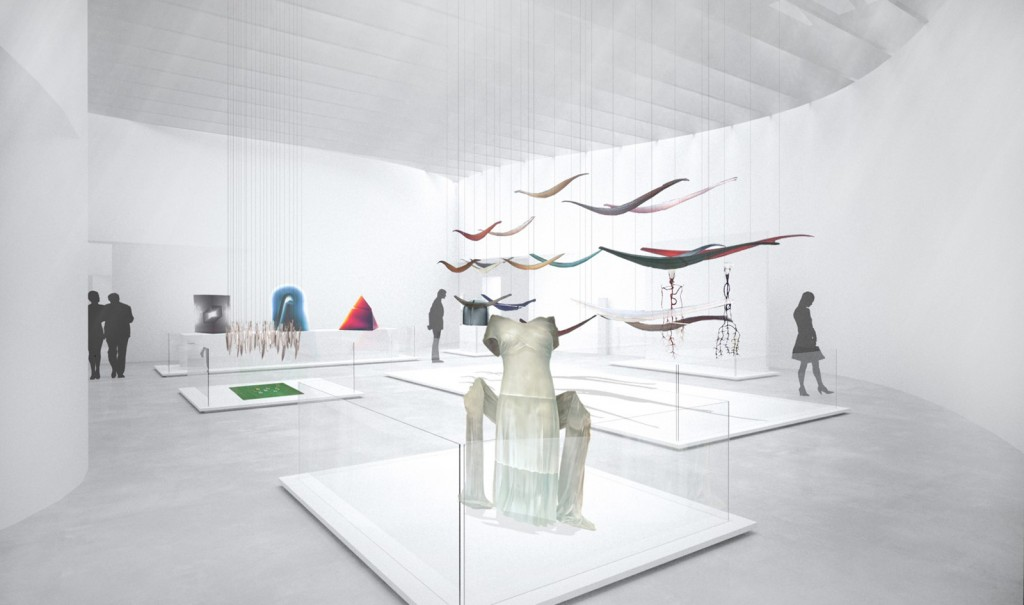 Rendering of Body and Narrative Gallery.