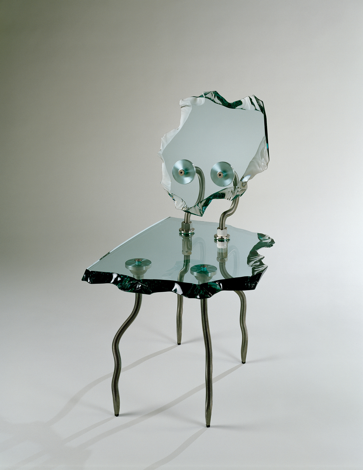 Etruscan Chair, Danny Lane, London, England, U.K., 1992. Purchased with the assistance of Emanuel and Phyllis Lacher and Sarah M. Hasson. 94.2.7.