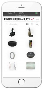Browse objects in the new galleries on GlassApp