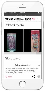 Find related media and term definitions on GlassApp.