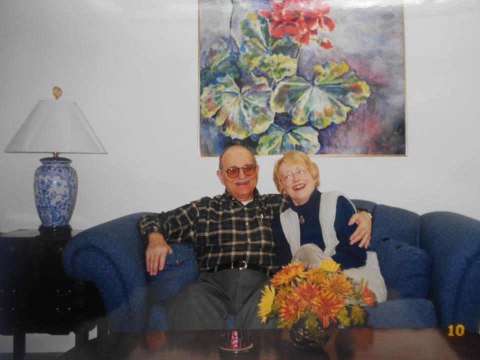 Nancy and Bud Gerbasi, courtesy of the Gerbasi family.