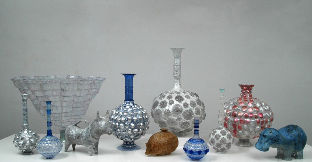 Shari Mendelson's glass work prior to coming to The Studio.