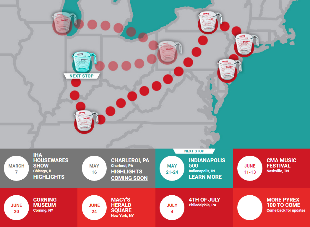 Track the World's Largest Measuring Cup on tour this summer