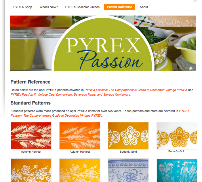Pyrex Passion Behind The Glass Cool Rare Pyrex Patterns