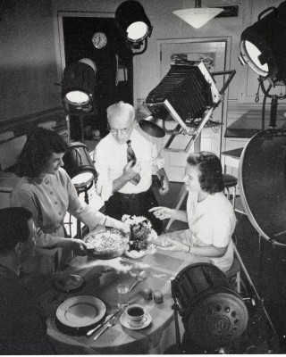 Test Kitchen- A Stevens and Helen Martin with Models