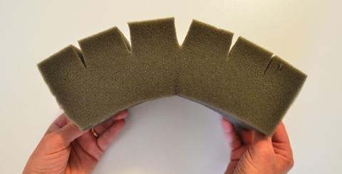 Flawed material bending