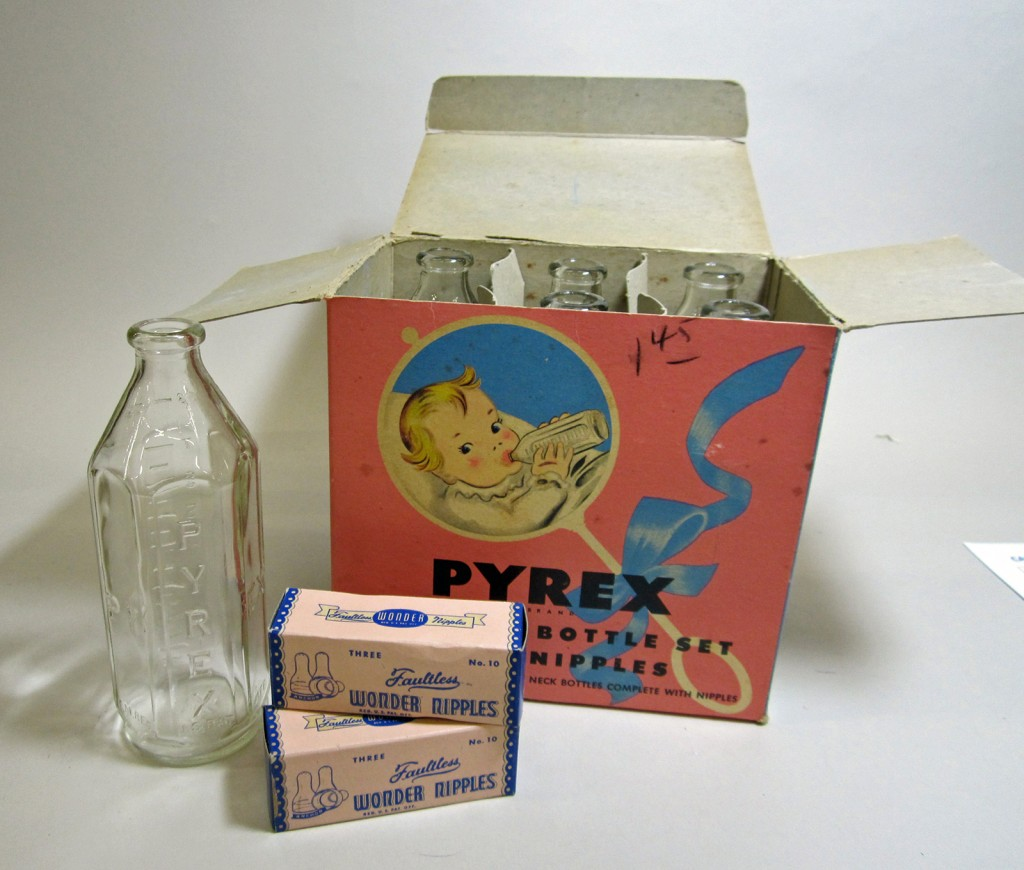 Pyrex Nursing Bottles