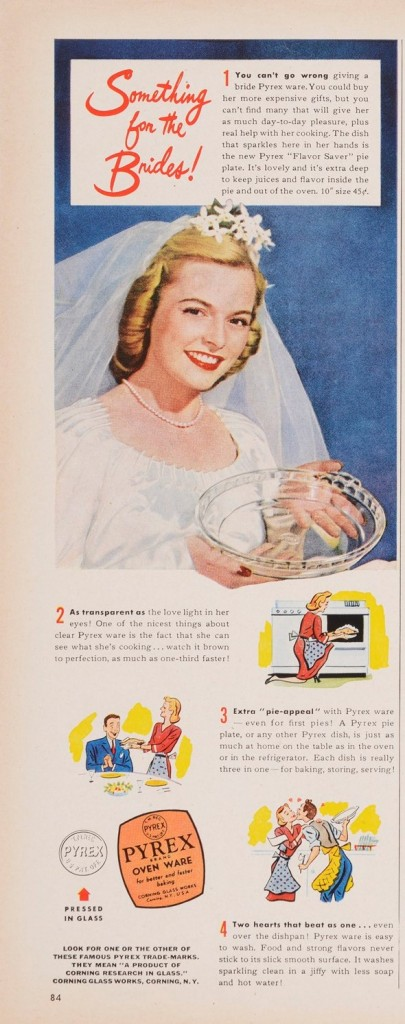 Printed in Better Homes & Gardens, June 1945. CMGL 140777.