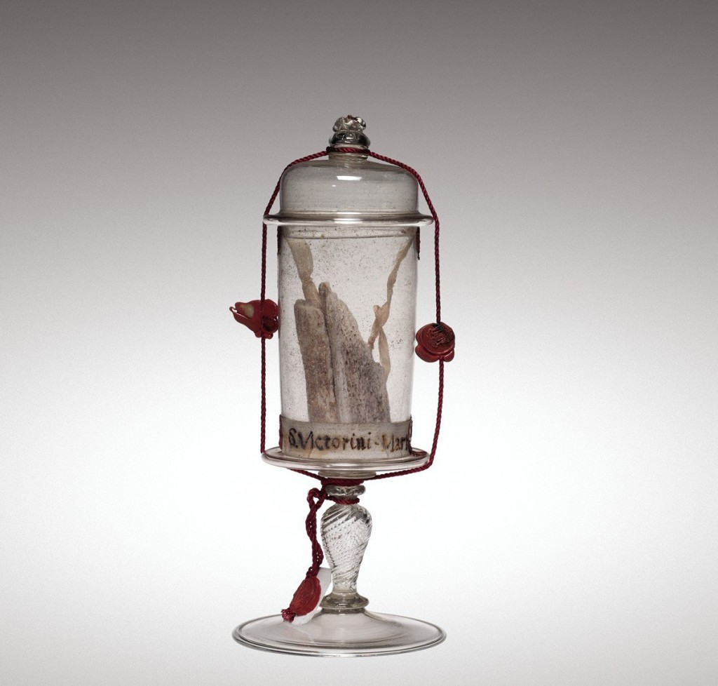 Reliquary Goblet, Venice, Italy, 1700-1799. 2009.3.94.