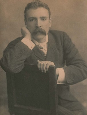 Portrait of Frederick Wilson, circa 1891. CMGL 127946.