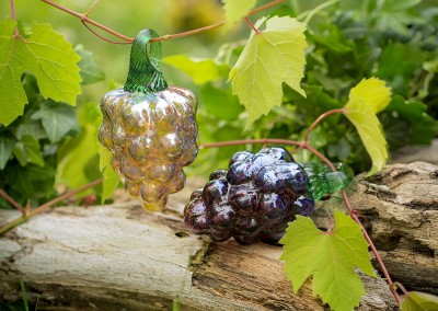 Make Your Own Glass Grapes