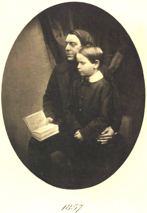 Philip Henry Gosse and his son Edmund.