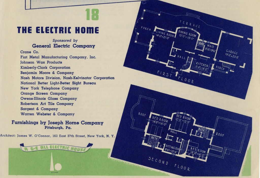 Floorplans for the Electric Home