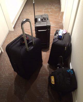 Marv's luggage