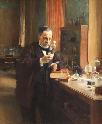 """""""Portrait of Louis Pasteur"""", Albert Edelfelt, Paris, France, 1885"""