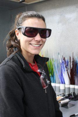Workshop coordinator Kalli Snodgrass.