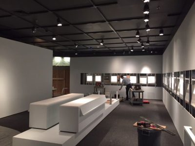 Changing gallery during construction