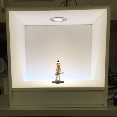 Case lighting mock-up
