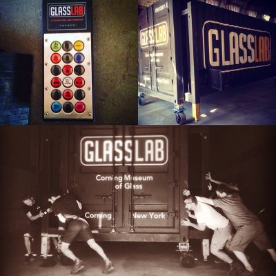 Breaking down and packing up the GlassLab.