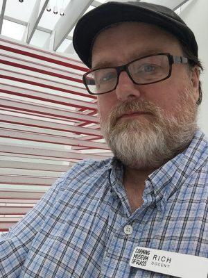 CMoG docent Rich LaVere.