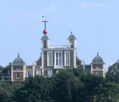 The Royal Observatory at Greenwich (Courtesy National Maritime Museum, Greenwich, London).