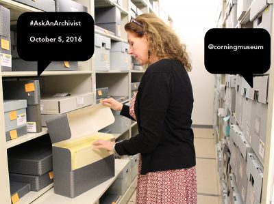 #AskAnArchivist Day is Oct. 5