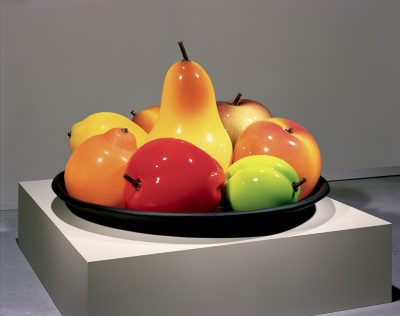Still Life with Two Plums, Flora C. Mace and Joey Kirkpatrick