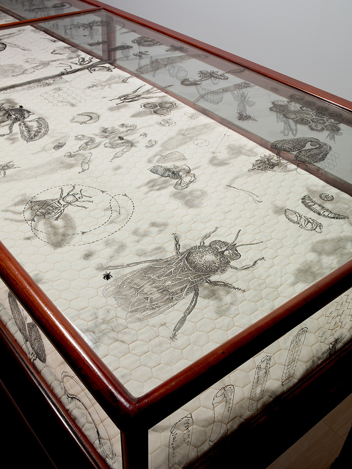 The Murmur of Bees (detail), Michael Rogers