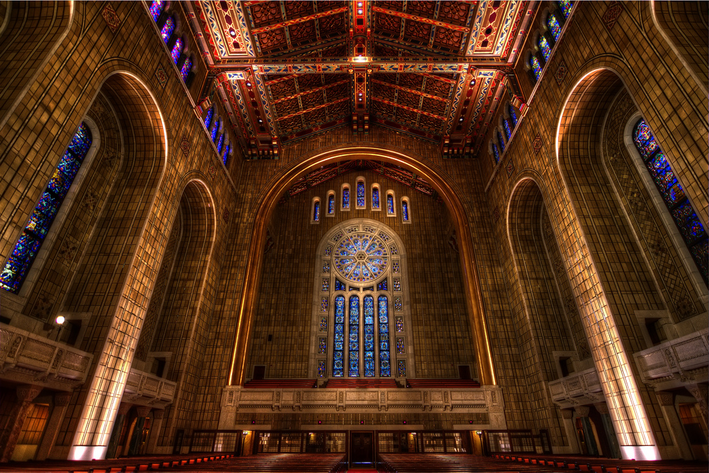 Temple Emanu-El sanctuary