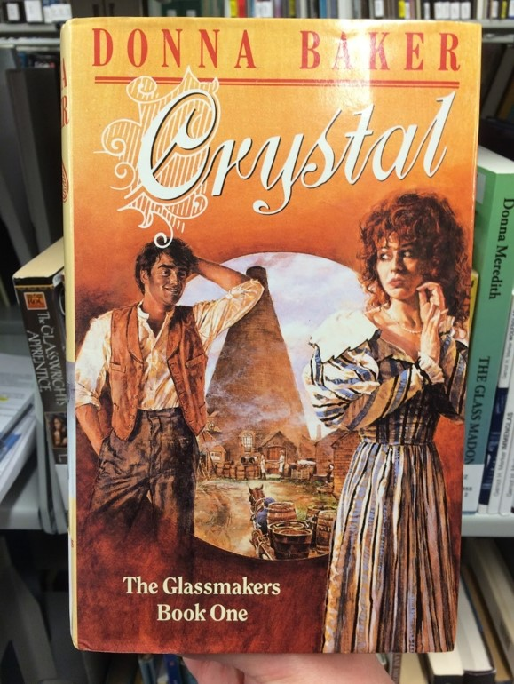 Cover of a romance novel
