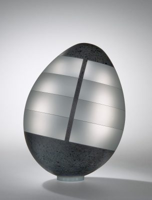 Mysterious Egg. Jan Mares (Czech, 1953-2005), Novy Bor, Czech Republic, 2005. 2005.3.4.