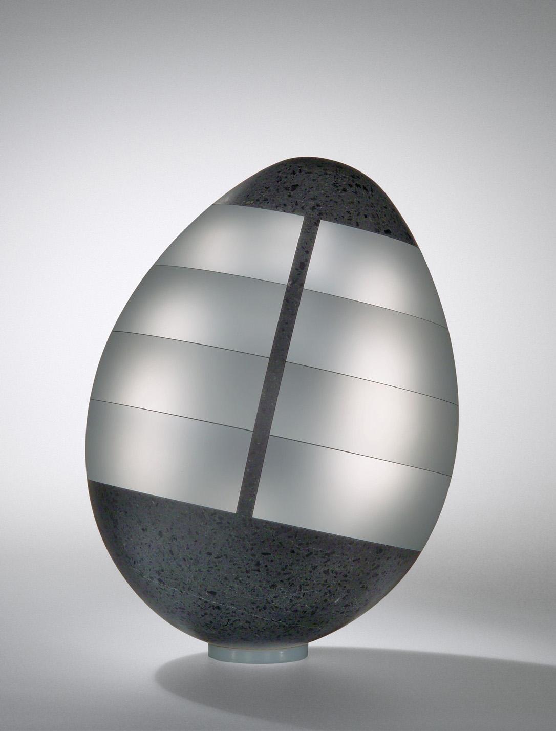 Mysterious Egg. Jan Mares (Czech, 1953-2005), Novy Bor, Czech Republic, 2005. 2005.3.4.