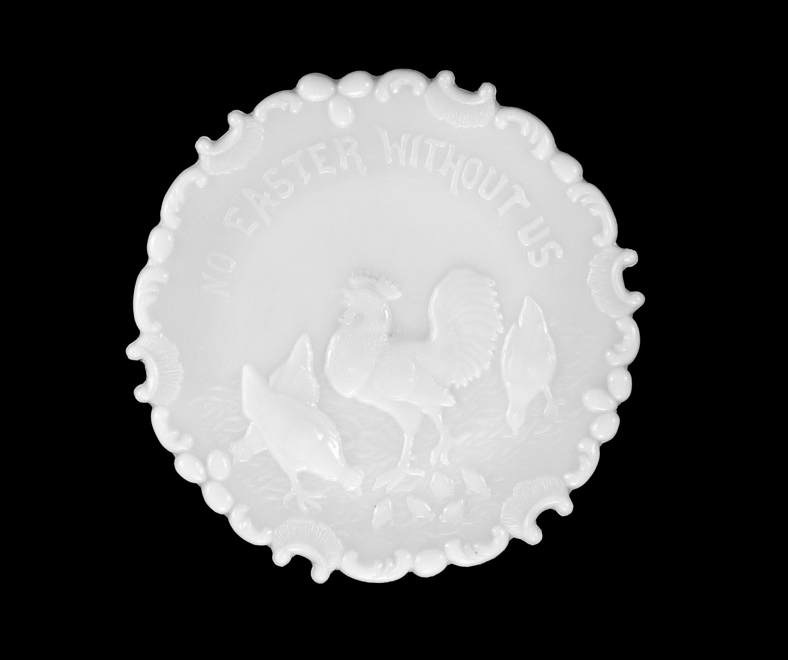 Plate, Dithridge Flint Glass Company, New Brighton, Pa., 1900. Gift of Mr. and Mrs. William F. Gelabert. 79.4.159.