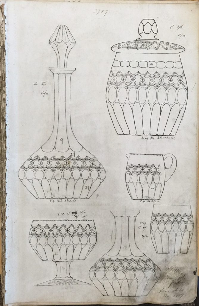 Page from a design catalog
