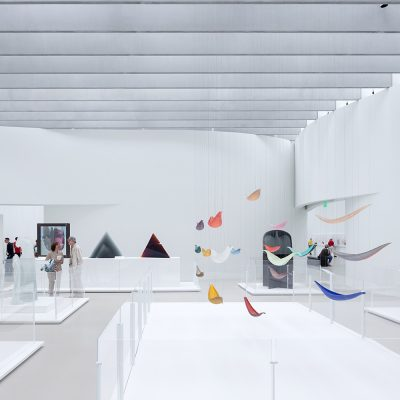 Check out the Contemporary Art + Design wing