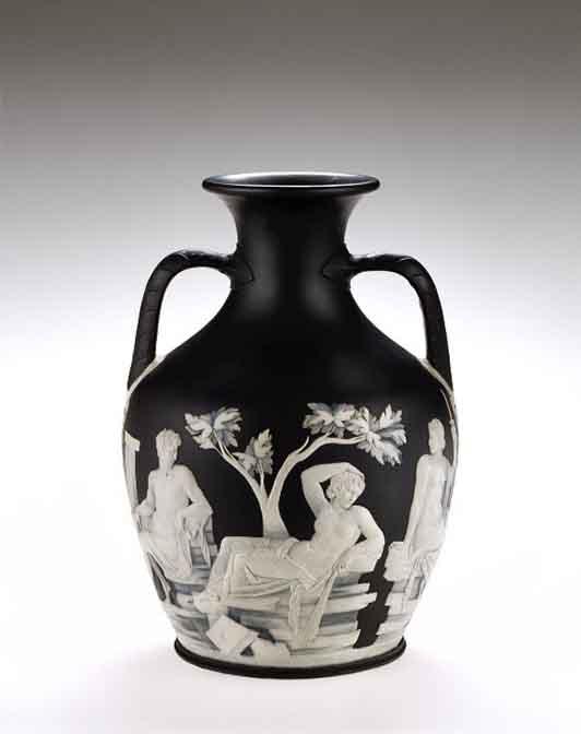 Copy of the Portland Vase, Josiah Wedgwood, Etruria, England, about 1790