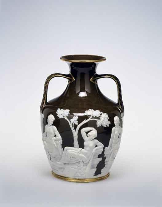 Copy Of The Portland Vase Minton Co Marc Louis Solon Stoke On