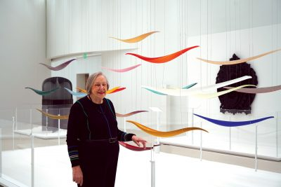 Sue Schwartz in the Contemporary Art + Design Gallery.
