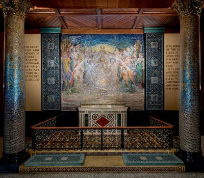 Chapel of the Angels, St. Michael's Episcopal Church, New York, New York, 1920.