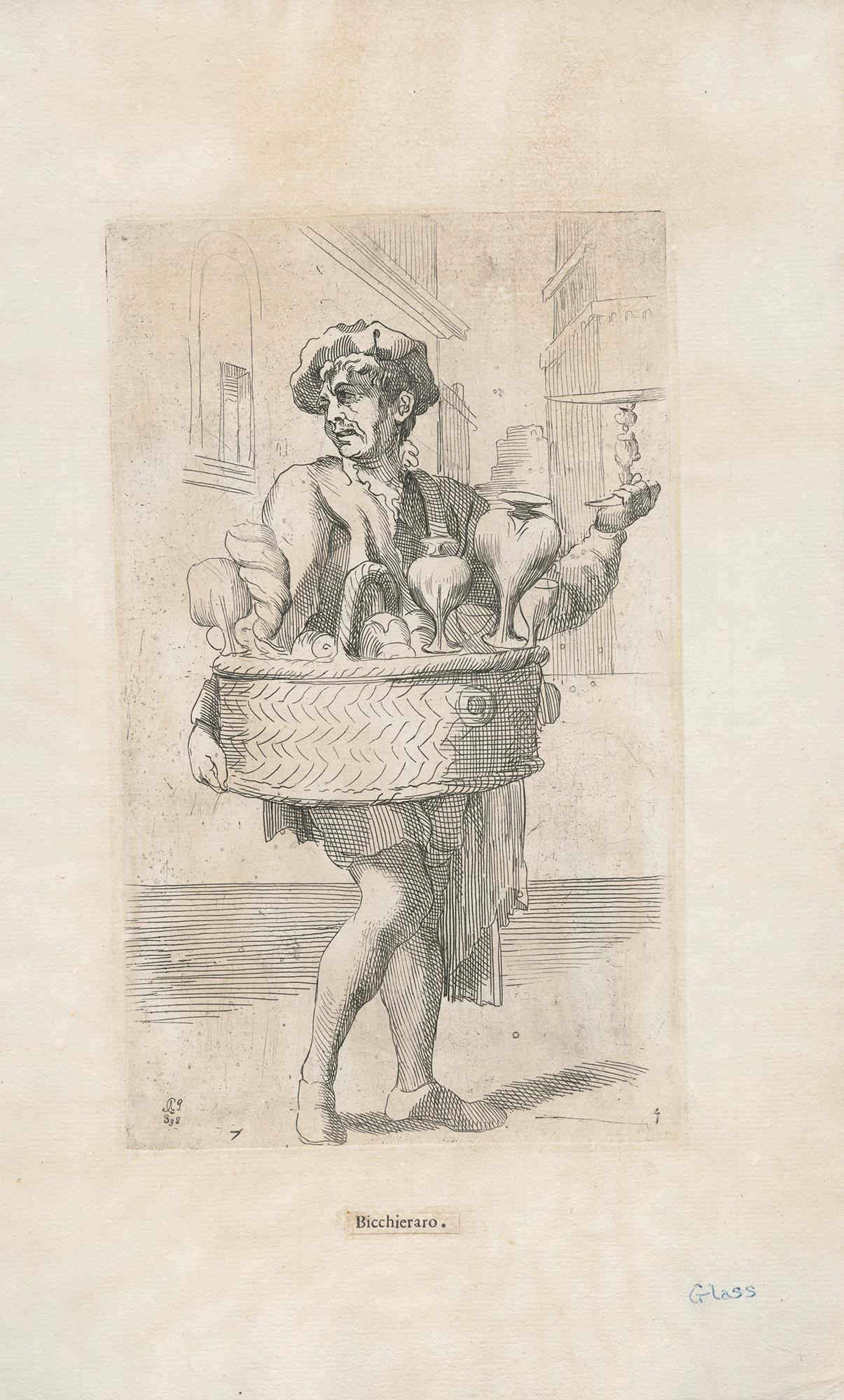 Bicchieraro, Annibale Carracci, ca. 1646