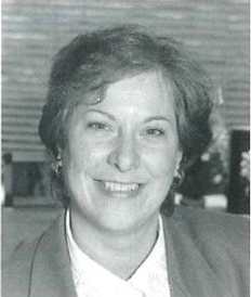 Nancy Earley in 1994 when she began her career at The Corning Museum of Glass.