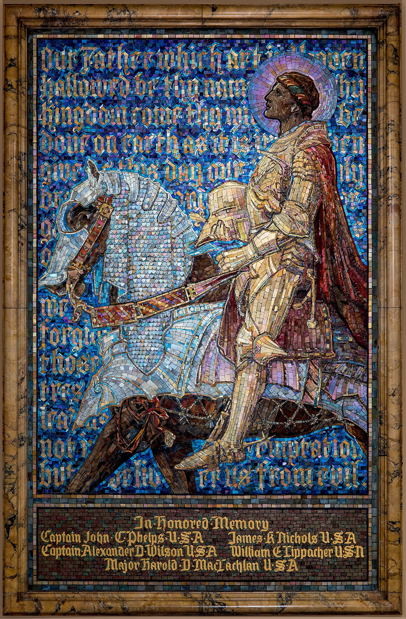 Panel, The Prayer of the Christian Soldier, 1919.