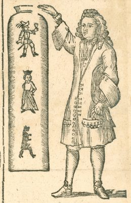 This early itinerant glassworker claimed the figures in his Cartesian diver bottle responded to his commands.