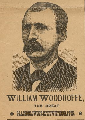 William Woodroffe, one of the Woodroffe brothers, used this title while a member of Madam Nora's troupe.