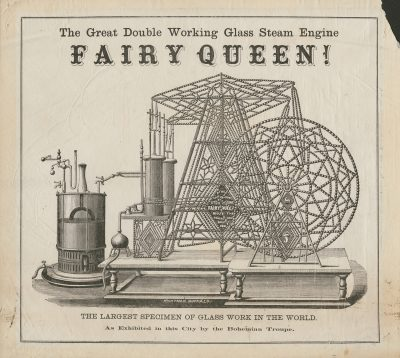 One of the most popular steam engines of the time, the Fairy Queen was a major draw for audiences.