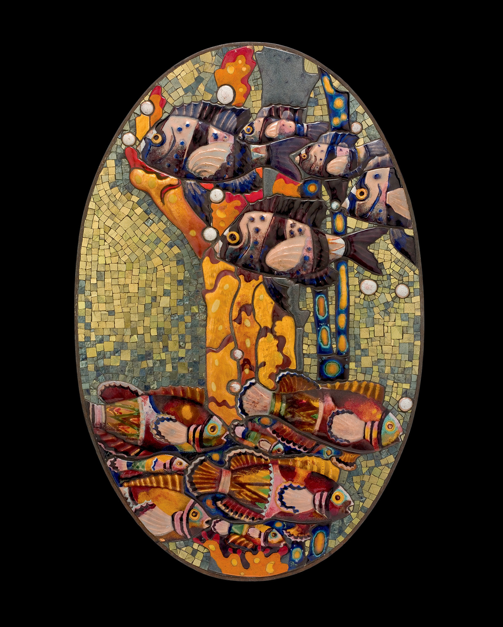 Mosaic with Fish
