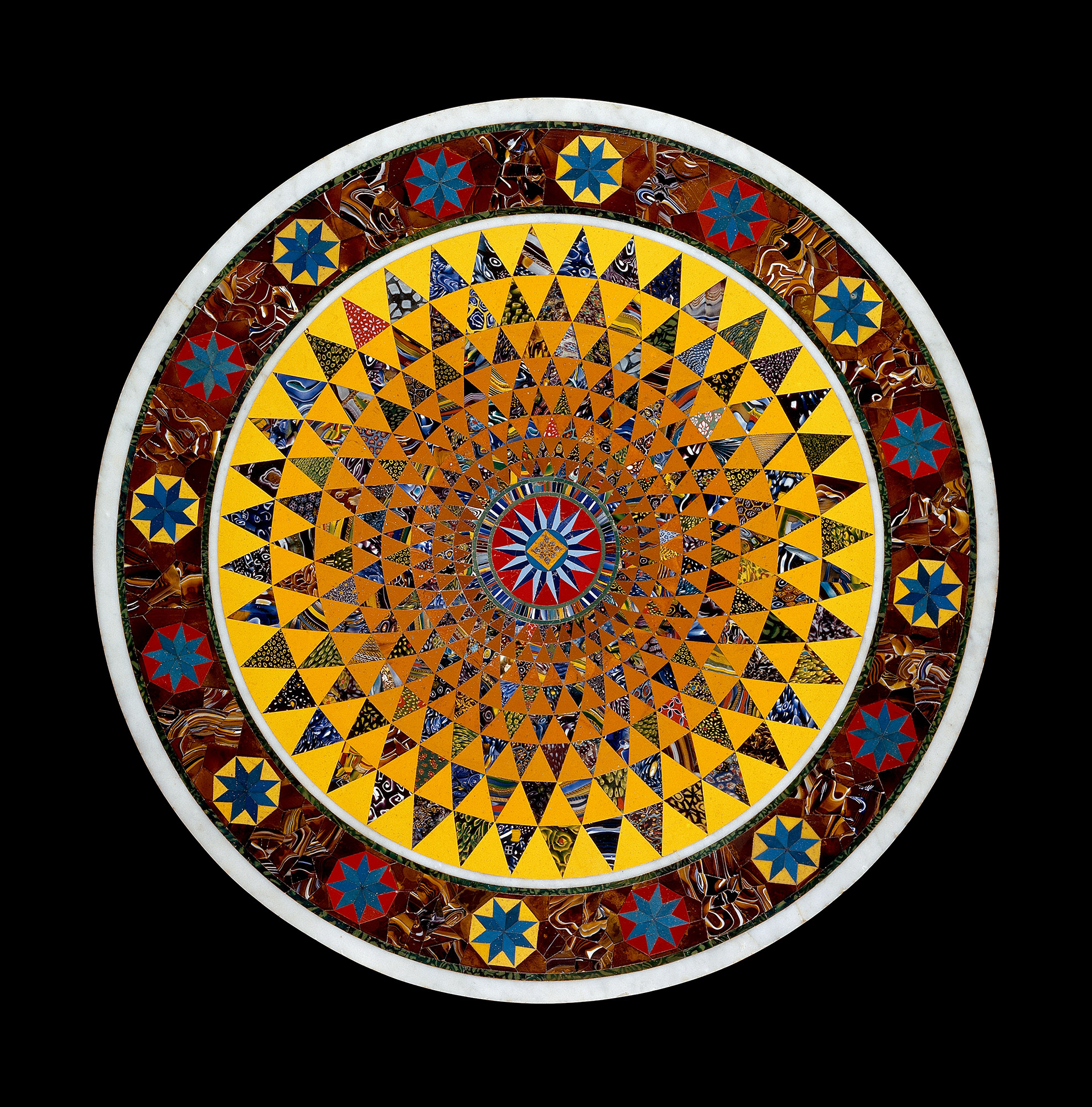 Mosaic Glass Tabletop