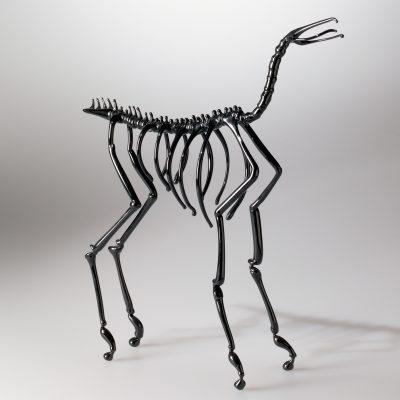 Horse Skeleton Dafna Kaffeman (Israeli, b. 1972), Jerusalem, Israel, 2003. Gift of Dale and Doug Anderson. © Dafna Kaffeman. 2005.3.22.
